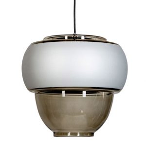 Ariel Anthracite Wide lamp